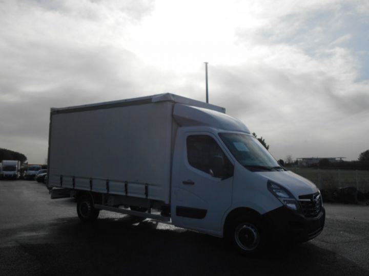 Chassis + body Opel Movano Curtain side body F3500 L3 2.3 CDTi 145 Tautliner Blanc - 2