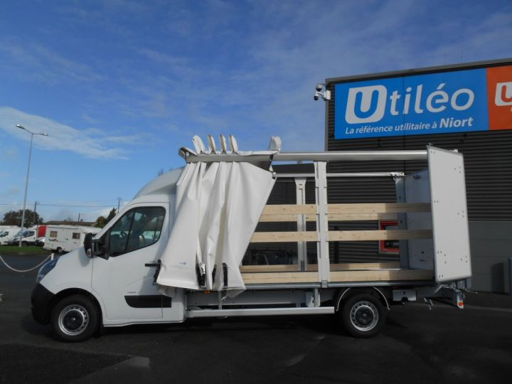 Chassis + body Opel Movano Curtain side body F3500 L3 2.3 CDTi 145 Tautliner Blanc - 3