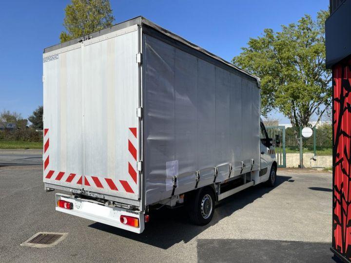 Chassis + body Renault Master Curtain side body 125 PLSC TOIT DEBACHABLE PLANCHER ALUMINIUM / HAYON ELEVATEUR BLANC - 7
