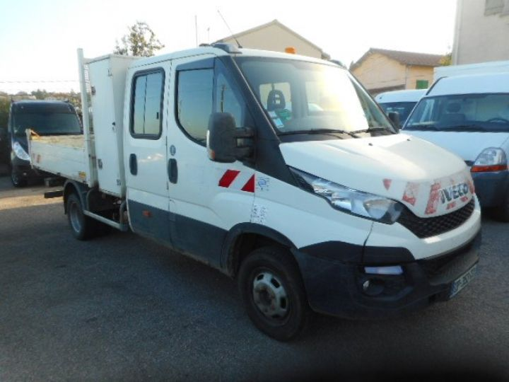 Chassis + body Iveco CF75 Double Cab Back Dump/Tipper body 35C13 DOUBLE CABINE BENNE  - 2