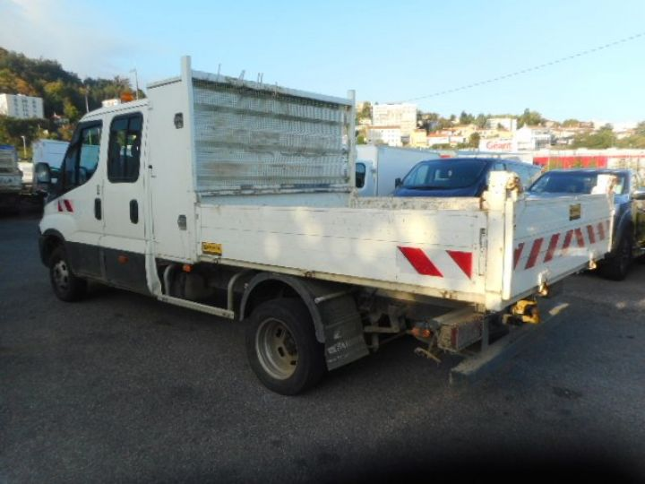Chassis + body Iveco CF75 Double Cab Back Dump/Tipper body 35C13 DOUBLE CABINE BENNE  - 4