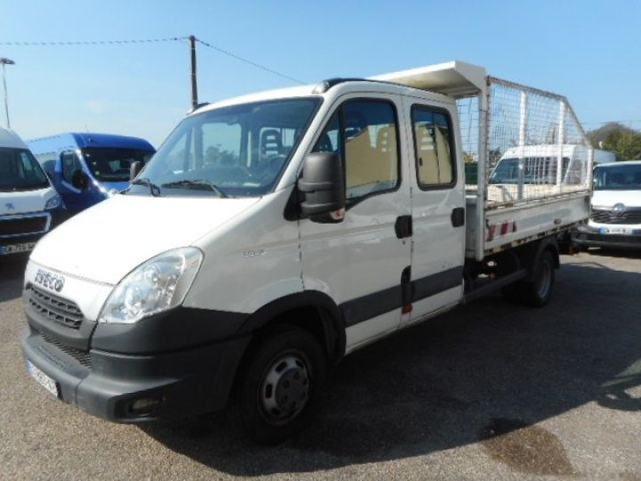 Chassis + body Iveco Daily Double Cab Back Dump/Tipper body 35C13 BENNE DOUBLE CABINE  - 2