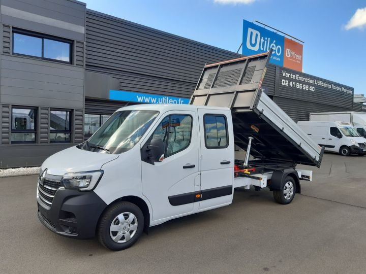 Chassis + body Renault Master Double Cab Back Dump/Tipper body 3.5 2.3 DCI 145CH ENERGY DOUBLE CABINE CONFORT BLANC - 1