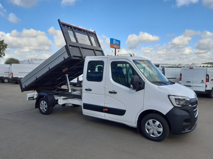 Chassis + body Renault Master Double Cab Back Dump/Tipper body 3.5 2.3 DCI 145CH ENERGY DOUBLE CABINE CONFORT BLANC - 2