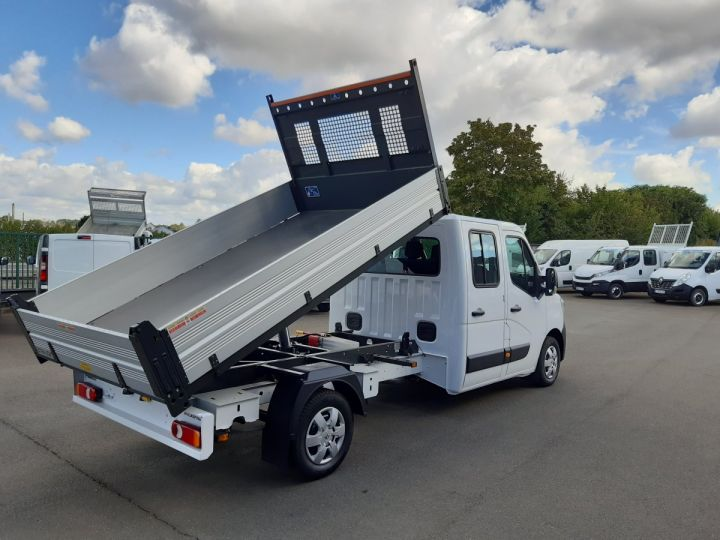 Chassis + body Renault Master Double Cab Back Dump/Tipper body 3.5 2.3 DCI 145CH ENERGY DOUBLE CABINE CONFORT BLANC - 3