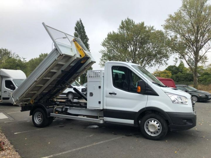 Chassis + body Ford Transit POLYBENNE AMPLIROLL 1 CAISSON BLANC - 6