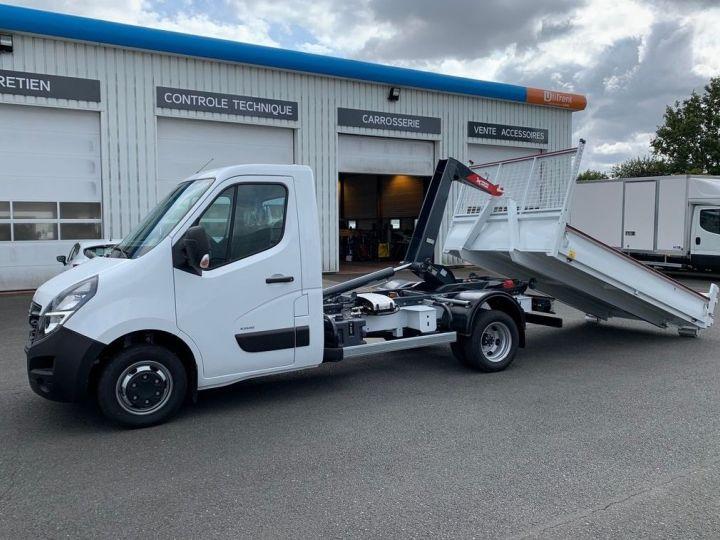 Chassis + body Opel Movano Hookloader Ampliroll body C3500 RJ L3 145CV BLANC - 1