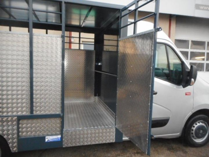 Chassis + body Renault Master Livestock body BETAILLERE DCI 130  - 7