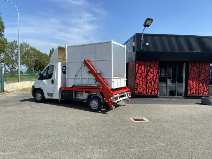 Chassis + body Peugeot Boxer MULTIBENNE BLANC - 4