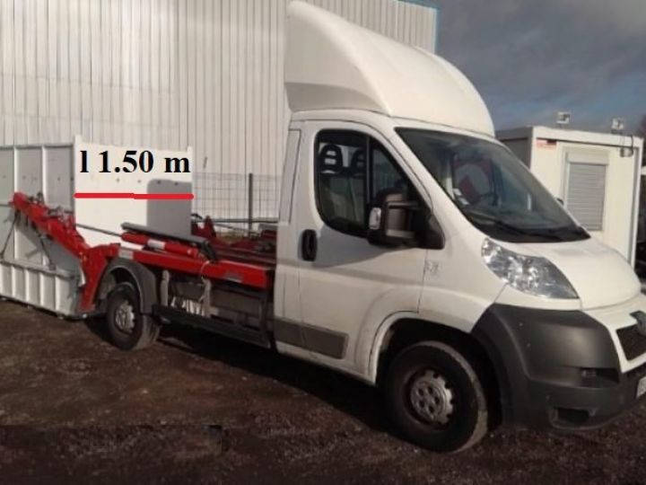 Chassis + body Peugeot Boxer MULTIBENNE BLANC - 7