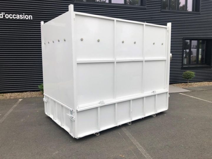 Chassis + body Peugeot Boxer MULTIBENNE BLANC - 8