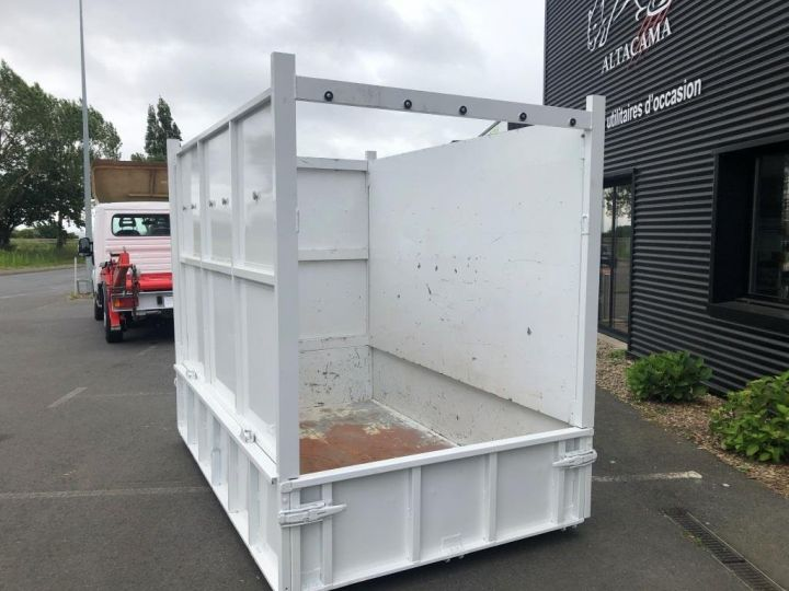 Chassis + body Peugeot Boxer MULTIBENNE BLANC - 9