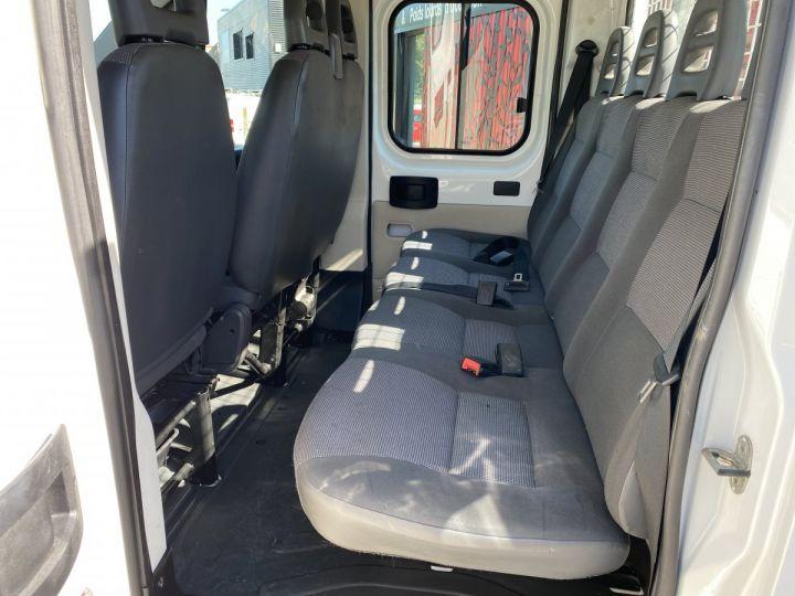 Chassis + body Peugeot Boxer Platform body 130 HAYON ELEVATEUR DOUBLE CABINE 7 PLACES BLANC - 8