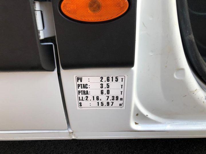 Chassis + body Renault Master Platform body 125 DOUBLE CABINE PLATEAU  AVEC POTENCE BLANC - 8