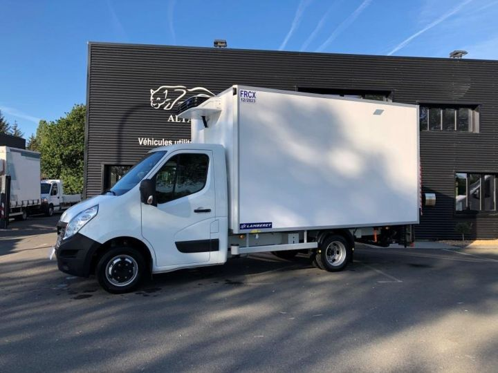 Chassis + body Renault Master Refrigerated van body 135 CV PENDERIE A VIANDE HAYON ELEVATEUR FRC X BLANC - 1