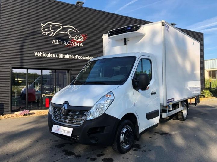 Chassis + body Renault Master Refrigerated van body 135 CV PENDERIE A VIANDE HAYON ELEVATEUR FRC X BLANC - 2