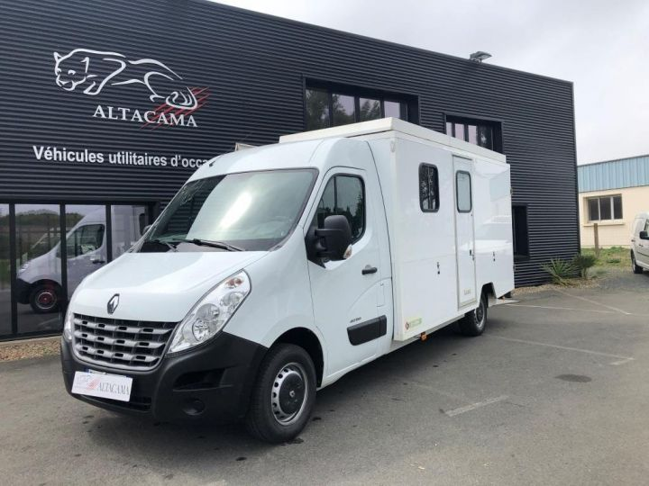 Chassis + body Renault Master 150 FOURGON CHANTIER BASE VIE BLANC - 2