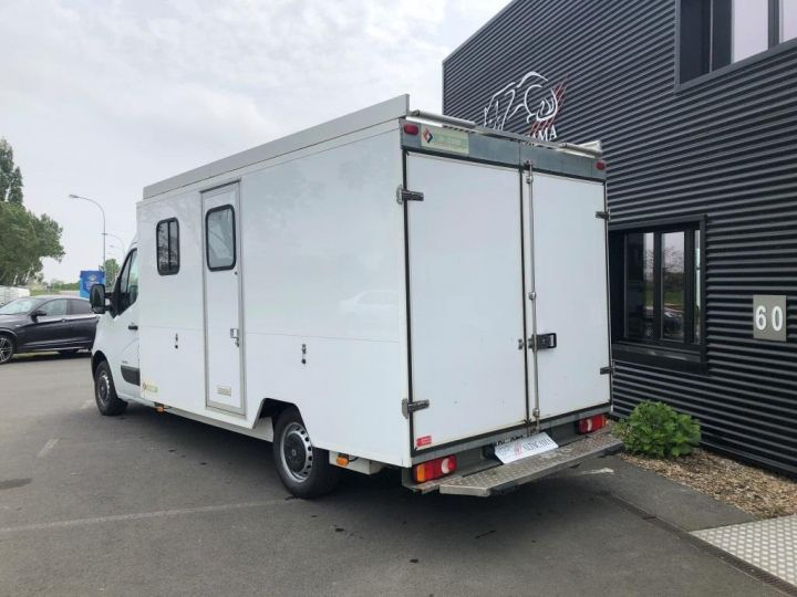 Chassis + body Renault Master 150 FOURGON CHANTIER BASE VIE BLANC - 3