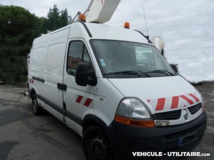 Chassis + body Renault Master Turret truck body DCI 120  - 1