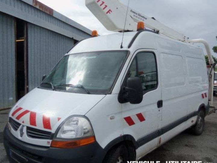 Chassis + body Renault Master Turret truck body DCI 120  - 2