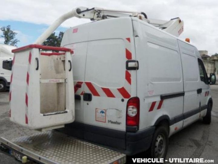 Chassis + body Renault Master Turret truck body DCI 120  - 3
