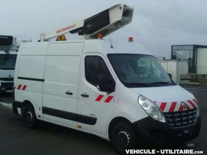 Chassis + body Renault Master Turret truck body DCI 120 L2H2  - 2