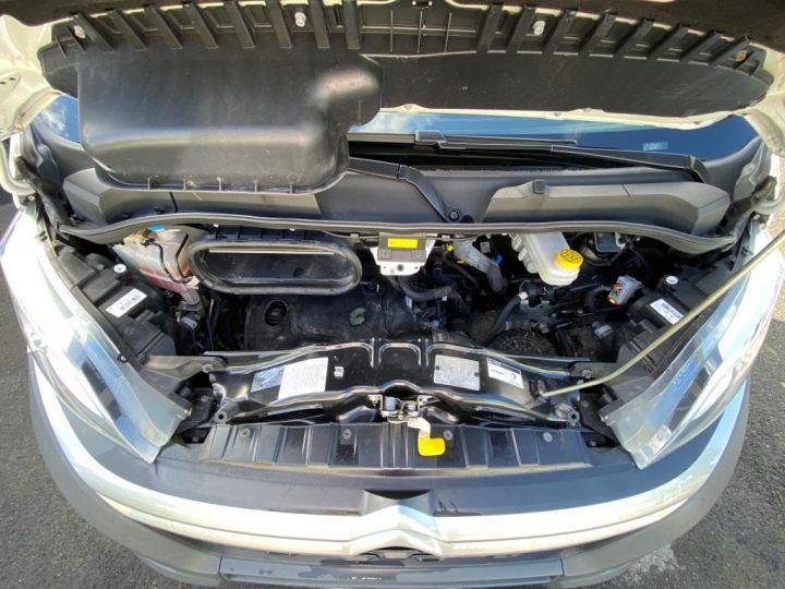 Chasis + carrocería Citroen Jumper Caja abierta 130 BACHE COULISSANTE BLANC - 11