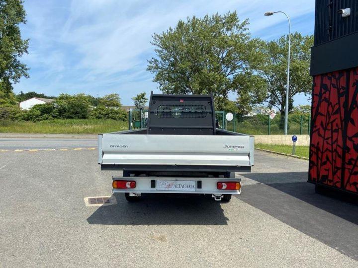 Chasis + carrocería Citroen Jumper Caja abierta 130cv PLATEAU RIDELLES  blanc - 4