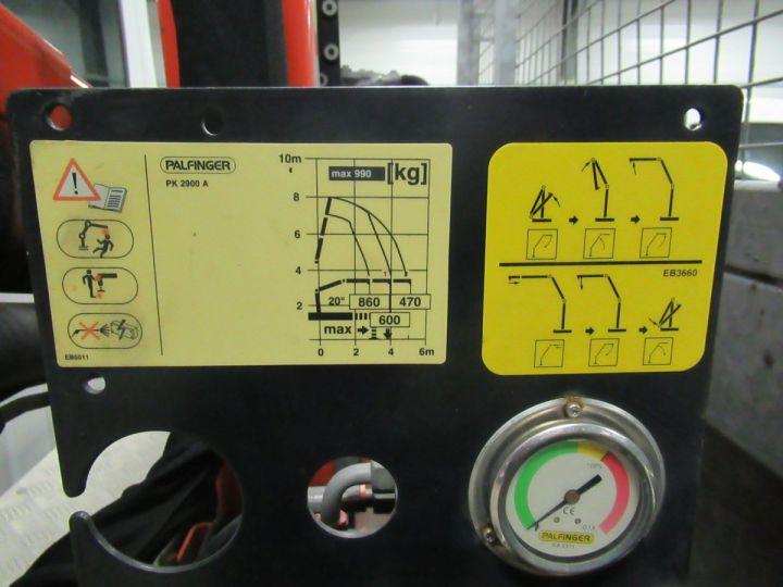 Chasis + carrocería Renault Master Caja abierta + grúa DCI 125 PLATEAU + GRUE  - 5
