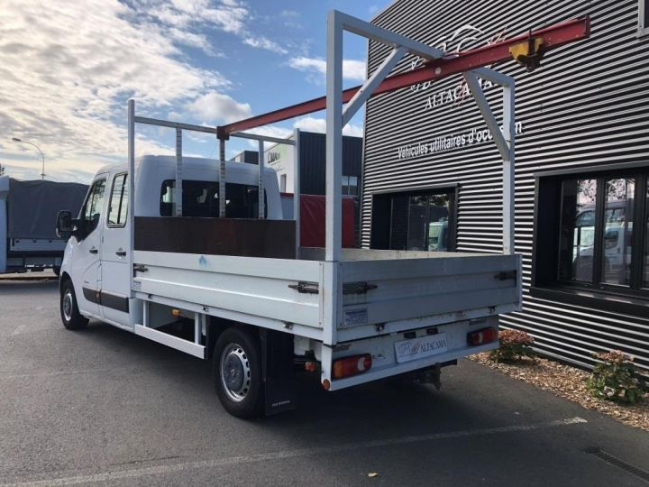 Chasis + carrocería Renault Master Caja abierta 125 DOUBLE CABINE PLATEAU  AVEC POTENCE BLANC - 3
