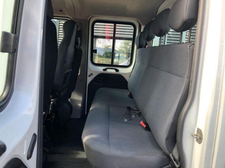 Chasis + carrocería Renault Master Caja abierta 125 DOUBLE CABINE PLATEAU  AVEC POTENCE BLANC - 10