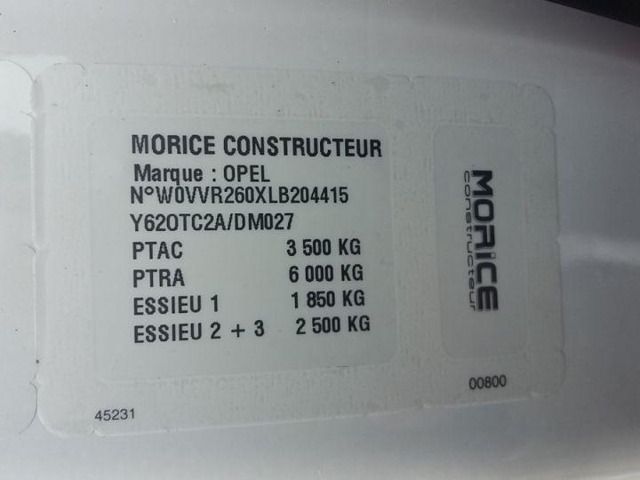 Chasis + carrocería F3500 L2H1 2.3 CDTI 165CH BITURBO START/STOP BLANC - 7