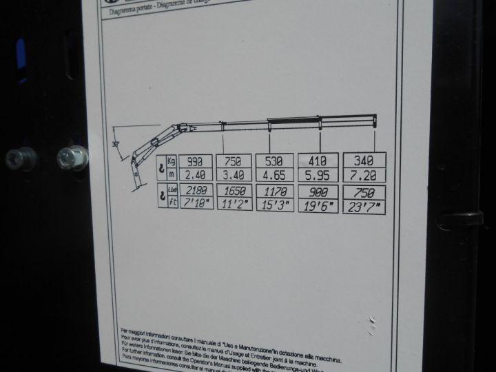 Chasis + carrocería Mitsubishi Canter Volquete + grúa 3S15 N28 BLANC - 10