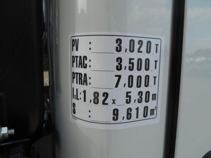 Chasis + carrocería Mitsubishi Canter Volquete + grúa 3S15 N28 BLANC - 11