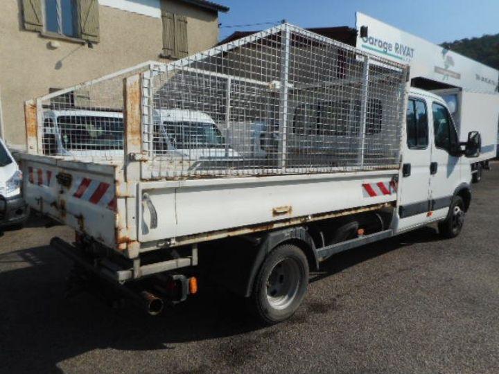 Chasis + carrocería Iveco Daily Volquete trasero cabina doble 35C13 BENNE DOUBLE CABINE  - 4