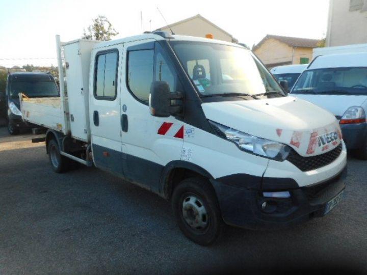 Chasis + carrocería Iveco Daily Volquete trasero cabina doble 35C13 DOUBLE CABINE BENNE  - 2