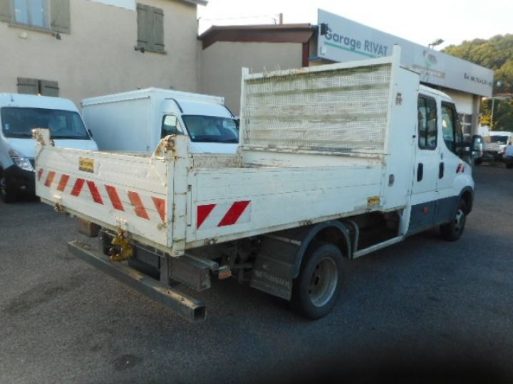 Chasis + carrocería Iveco Daily Volquete trasero cabina doble 35C13 DOUBLE CABINE BENNE  - 3