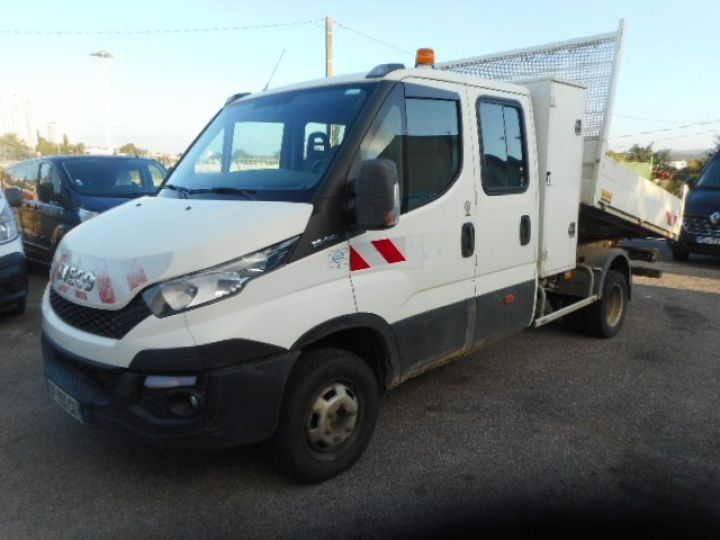 Chasis + carrocería Iveco Daily Volquete trasero cabina doble 35C13 DOUBLE CABINE BENNE  - 5