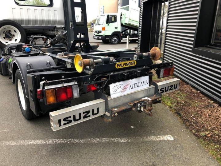 Chassis + carrosserie Isuzu NLS Ampliroll Polybenne BENNE AMOVIBLE BLANC - 6