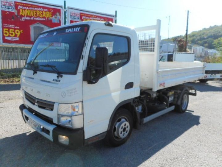 Chassis + carrosserie Mitsubishi Canter Ampliroll Polybenne 3C13 AMPLIROLL POLYBENNE  Occasion - 2