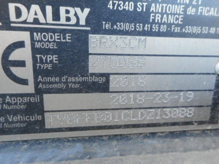Chassis + carrosserie Mitsubishi Canter Ampliroll Polybenne 3C13 AMPLIROLL POLYBENNE  Occasion - 5