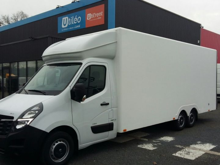 Chassis + carrosserie Opel Movano Autre 30m3 BITURBO S&S 165CV BLANC - 1