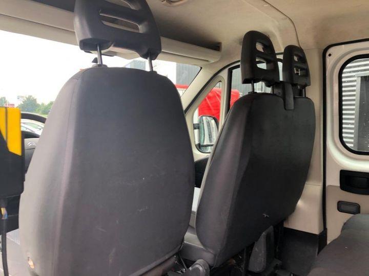Chassis + carrosserie Citroen Jumper Benne arrière BENNE PAYSAGUSTE DOUBLE CABINE BLANC - 10