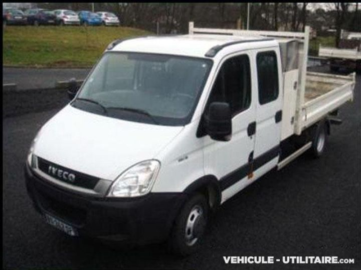Chassis + carrosserie Iveco Daily Benne Double Cabine 35C13 Double Cab  - 1
