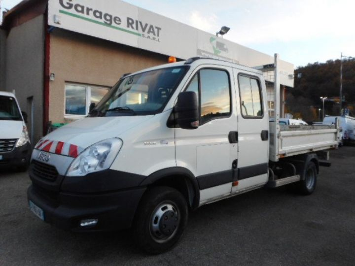 Chassis + carrosserie Iveco Daily Benne Double Cabine 35C15 DOUBLE CABINE  Occasion - 1