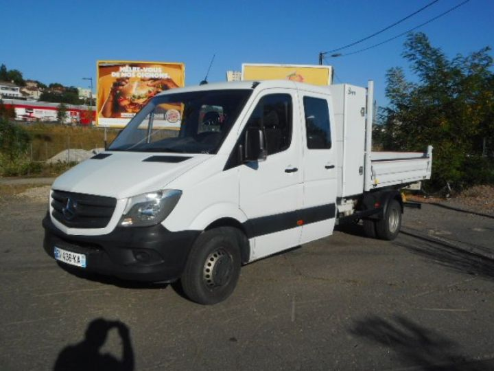 Chassis + carrosserie Mercedes Sprinter Benne Double Cabine 514 DOUBLE CABINE BENNE  Occasion - 1