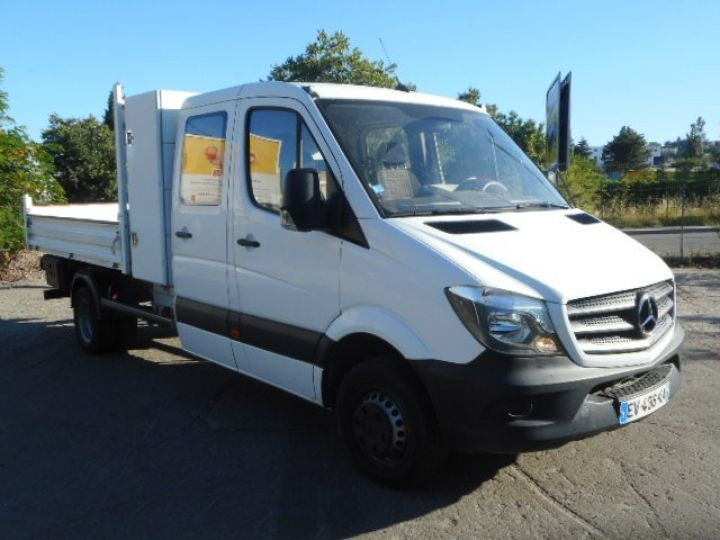 Chassis + carrosserie Mercedes Sprinter Benne Double Cabine 514 DOUBLE CABINE BENNE  Occasion - 2