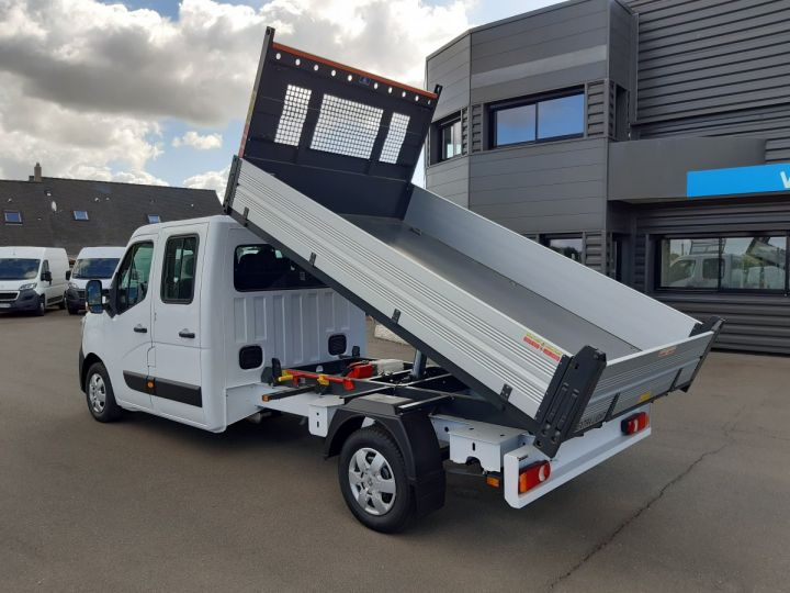 Chassis + carrosserie Renault Master Benne Double Cabine 3.5 2.3 DCI 145CH ENERGY DOUBLE CABINE CONFORT BLANC - 4