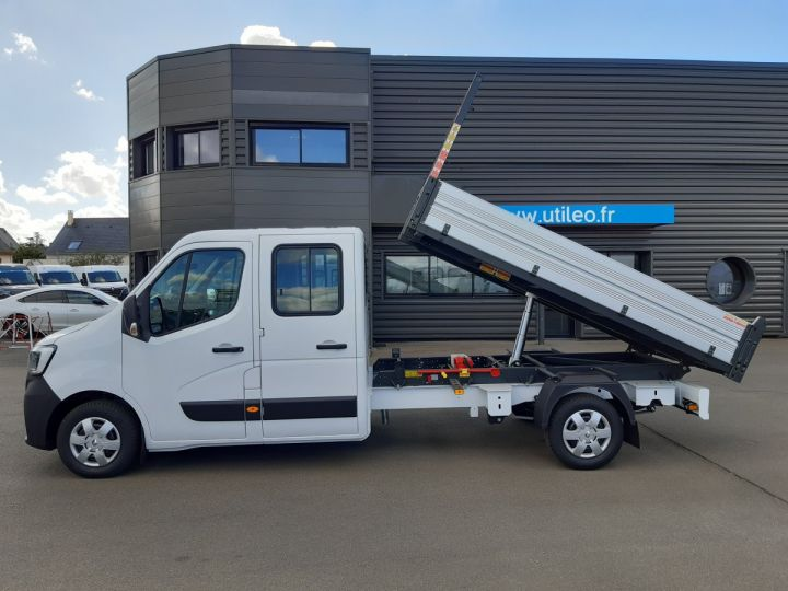 Chassis + carrosserie Renault Master Benne Double Cabine 3.5 2.3 DCI 145CH ENERGY DOUBLE CABINE CONFORT BLANC - 8