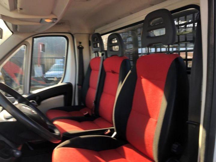 Chassis + carrosserie Fiat Ducato Benne arrière BLANC - 5